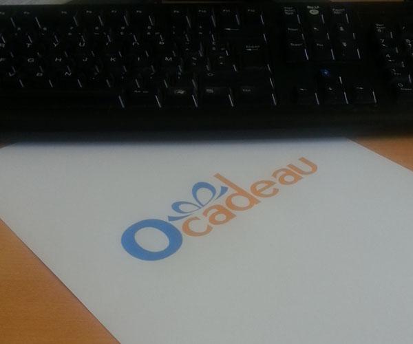 Nouveau logo Ocadeau