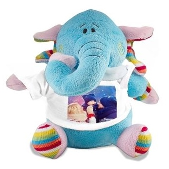 Peluche elephant photo